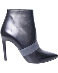 Proenza Schouler Leather Bootie With Zip - Lyst
