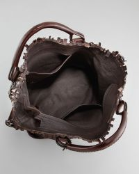 Henry Beguelin - Woven Leather Tote Bag Brown - Lyst