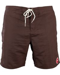 Obey - Inlet Street Swim Shorts - Lyst