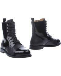 Carven - Combat Boots - Lyst