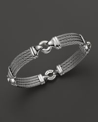 Charriol Gentlemens Collection Nautical Cable Station Bracelet Lyst