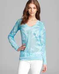 Juicy Couture Sweater Royal Palms - Lyst