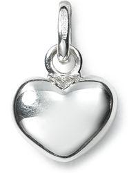 Links of London - Sterling Silver Mini Heart Charm - Lyst