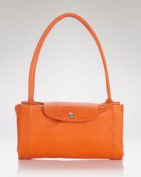 Longchamp Shoulder Bag - Le Pliage Leather Cuir Small - Lyst