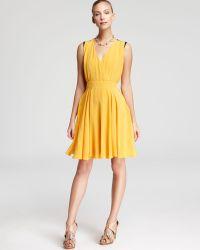 Max Mara Studio Ribelle Crepe Dress - Lyst