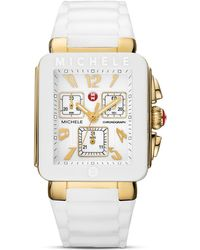 Michele Park Jelly Bean Silicone Watch, 33X35.5Mm - Lyst