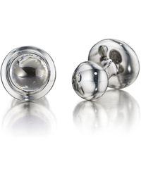 Robin Rotenier - Sterling Silver Globe Cufflinks - Lyst