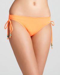 Shoshanna Beaded Bikini Bottom - Lyst
