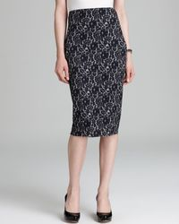 Vince Camuto Chantilly Lace Tube Skirt - Lyst