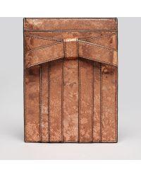 Zac Zac Posen - Ipad Mini Case Shirley Marbled Metallic - Lyst