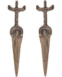 Alkemie - Sword Earring - Lyst