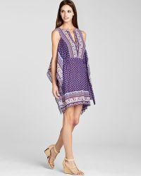 BCBGMAXAZRIA Caftan Dress Alexi Printed - Lyst