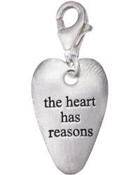 Bjorg - The Heart Has Its Reasons Pendant - Lyst