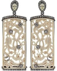 Bochic - Carved Mammoth Diamond Earring - Lyst
