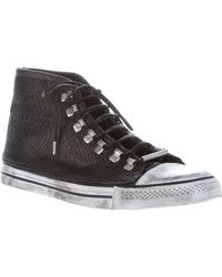 Black Dioniso - Python Sneaker - Lyst