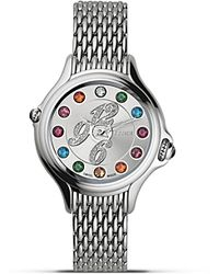 Fendi - Crazy Carats Diamond and Topaz Stainless Steel Watch 38mm - Lyst