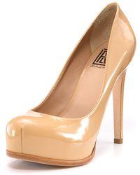 Pour La Victoire - Irina Platform Court Shoes - Lyst