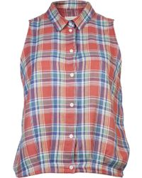 Boy by Band of Outsiders Madras Shirt