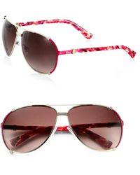 Dior Chicago 63Mm Aviator Sunglasses - Lyst