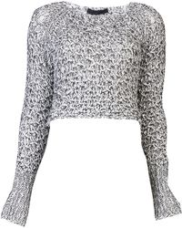 Jen Kao - Tangled Knit Sweater - Lyst