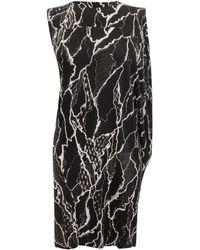 McQ by Alexander McQueen Lightening Lace Asymmetrical Dress - Lyst