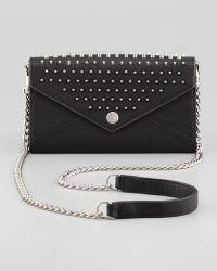 Rebecca Minkoff Studded Chain strap Wallet - Lyst