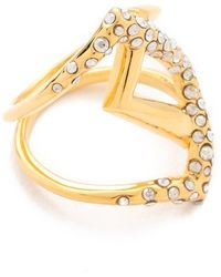 Alexis Bittar New Wave Overlapped Ring - Lyst