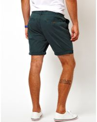 ASOS - Chino Shorts In Mid Length - Lyst