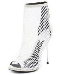 B Brian Atwood - Michelet Mesh Booties - Lyst