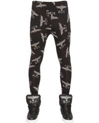 BOY London - Boy Repeat Printed Jersey Leggings - Lyst