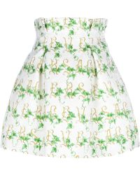 Caterina Gatta - Print Skirt - Lyst