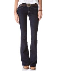 Current/Elliott The Low Bell Jeans - Lyst