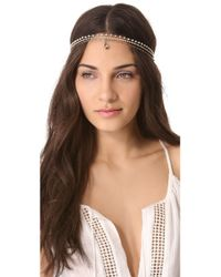 Dauphines of New York - Mischievous Goddess Headband - Lyst