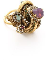 Erickson Beamon - Garden Party Ring - Lyst