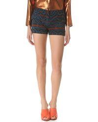 Jenni Kayne - Straight Print Shorts - Lyst