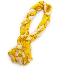 Juicy Couture - Washed Hibiscus Print Scarf - Lyst