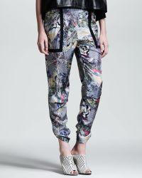 Kelly Wearstler - Array Kaleidoscope Chiffon Trousers - Lyst