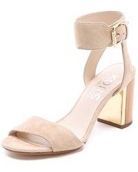 Kors by Michael Kors - Lexa High Heel Sandals - Lyst