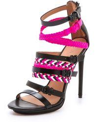 L.A.M.B. - Jessie Strappy Sandals - Lyst