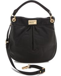 Marc By Marc Jacobs Classic Q Hillier Hobo - Black - Lyst