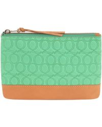 McQ - Q Embossed Pouch - Lyst