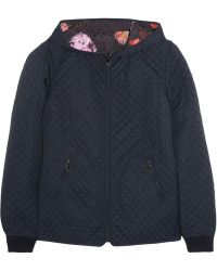 Mulberry Reversible Quilted Sateentwill Coat - Lyst