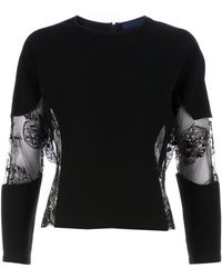 Sharon Wauchob - Lace Sweater - Lyst