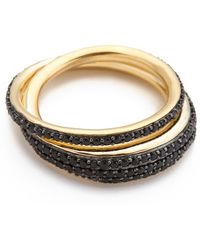 Tom Binns - Bejeweled Saturn Ring - Lyst