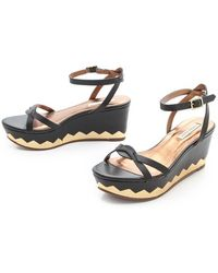 Twelfth Street Cynthia Vincent - Maj Platform Sandals - Lyst