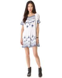 Twenty8Twelve - Poupee Embroidered Dress - Lyst