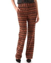 Willow - Woven Wide Leg Trousers - Lyst