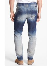 Diesel Narrot Jogg Collection Slouchy Tapered Leg Jeans - Lyst