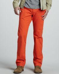 Diesel Chi Regs Orange Jeans - Lyst