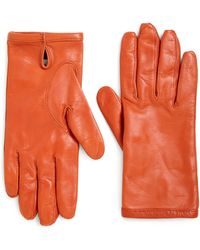 Maison Margiela Leather Gloves - Lyst